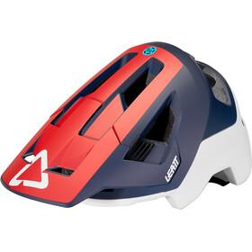 Leatt DBX 4.0 All Mountain Casco, rosso/blu